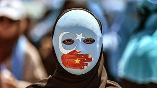 Uygur protestosu
