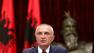 Albania's president Ilir Meta is locked in a battle with the country's government