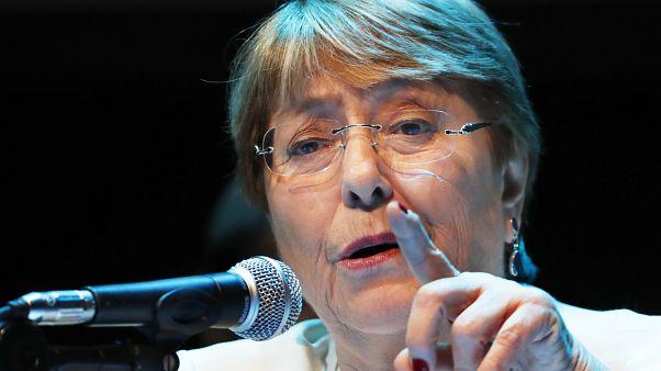رئيسة المفوضية السامية لحقوق الإنسان في الأمم المتحدة ميشال باشليه