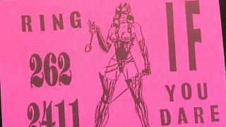 London's 'tart cards' reveal history of sex work, design and printing