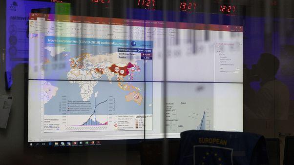 Zentrum für die Koordination von Notfallmaßnahmen (ERCC) in Brüssel