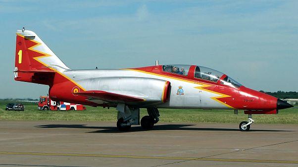 Se estrella un avión del Ejército del Aire en Murcia