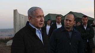 رئيس الوزراء الإسرائيلي بنيامين نتنياهو مع ووزير الدفاع نفتالي بينيت 24/11/2019
