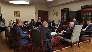 CHP Genel Başkanı Kemal Kılıçdaroğlu, İdlib'deki son gelişmeleri görüşmek üzere kurmaylarıyla bir araya geldi.