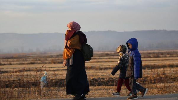Edirne' de düzensiz göçmen hareketliliği arttı