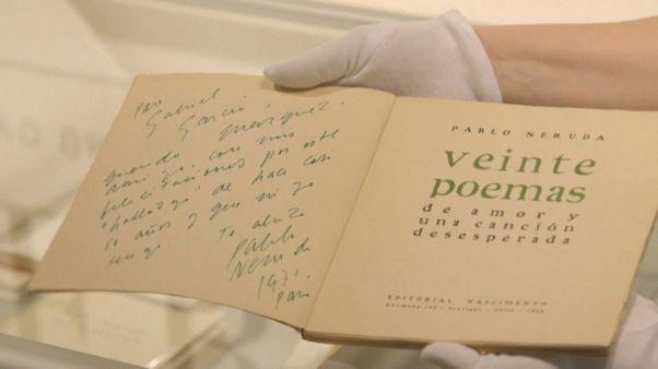 A subasta la mayor colección privada de Pablo Neruda