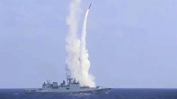 روسیه دو کشتی جنگی مجهز به موشک کروز را عازم آبهای سوریه میکند