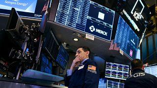 Торги на бирже в Нью-Йорке