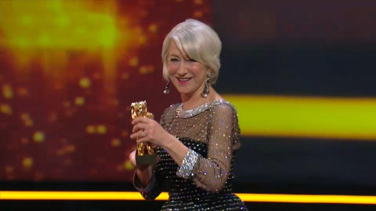Berlinale: Ehrenbär für Helen Mirren