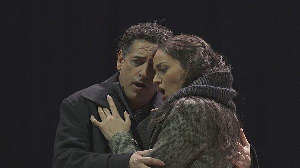 """""""La Bohème"""" na Ópera de Zurique"""