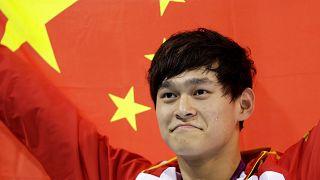 Çinli rekortmen yüzücü Sun Yang doping yaptığı gerekçesiyle 8 yıl men cezası aldı