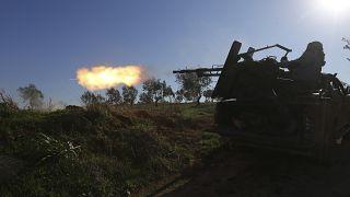 مقتل 16 من قوات النظام السوري في قصف تركي شمال سوريا
