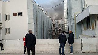 Φωτιά σε νοσοκομείο στα κατεχόμενα