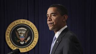 الرئيس السابق باراك أوباما  21/01/2009