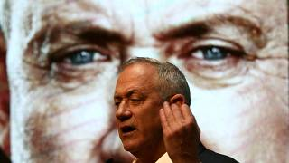 رئيس حزب أزرق أبيض الإسرائيلي بيني غانتس