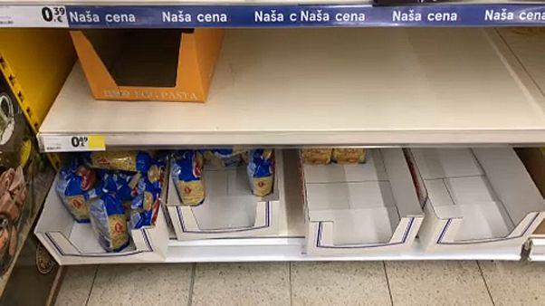 Készlethiány egy szlovák boltban