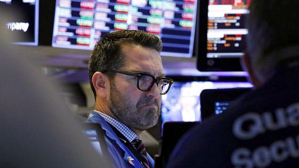 Wall Street vive pior semana desde 2008