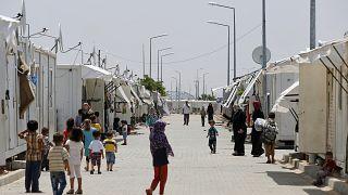 Kilis'teki Suriyeli mülteciler