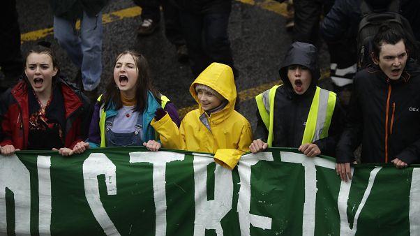 Бристольское шествие Греты Тунберг