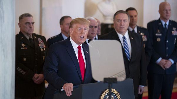 ABD Başkanı Trump ve Dışişleri Bakanı Pompeo