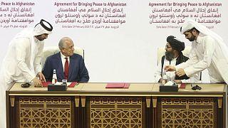 توافقنامه طالبان و آمریکا در قطر امضاء شد