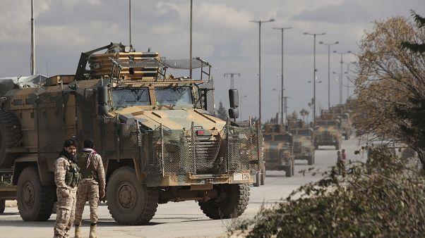 Турецкие восйка в Сирии