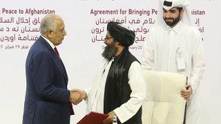 واکنش ایران و عربستان به توافقنامه صلح آمریکا و طالبان