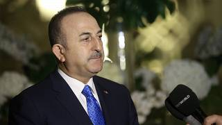 Dışişleri Bakanı Mevlüt Çavuşoğlu, Katar'da basın mensuplarının sorularını yanıtladı.