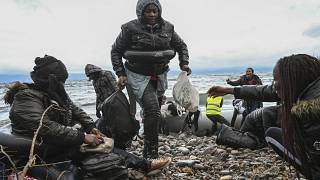 Migrants arrive in Lesbos after Erdogan opens Turkey's border with EU