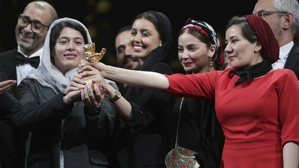 Iranian film about living under autocratic regime wins top prize at Berlin Film Festival