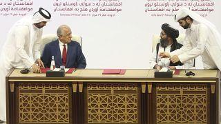 Taliban Lideri Ahundzade, Taliban'ın ABD ile imzalanan anlaşmayı ihlal etmeyeceğini belirtti