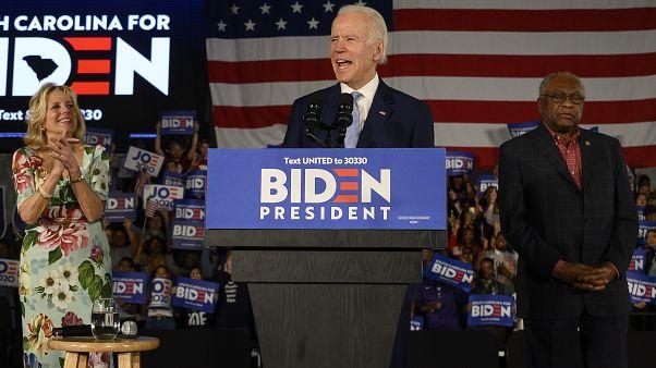 Előválasztás: Joe Biden visszatért