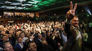 Победа оппозиции на парламентских выборах в Словакии