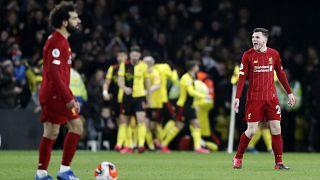Liverpool Premier Lig'de 44 maç sonra kaybetti, namağlup şampiyonluk hayalleri suya düştü