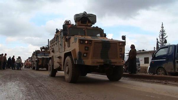 Syrien-Krise: Türkei bombardiert syrische Kampfjets