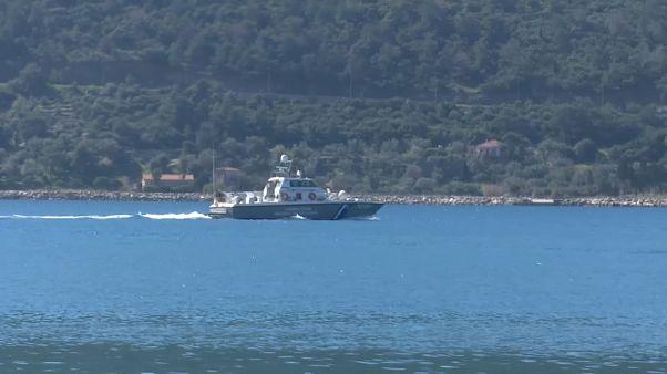 Migrants : reportage auprès d'une patrouille de surveillance des côtes entre la Grèce et la Turquie