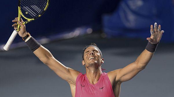 Nadal feiert Turniersieg in Acapulco