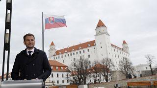 Victoria del opositor OLaNO en Eslovaquia
