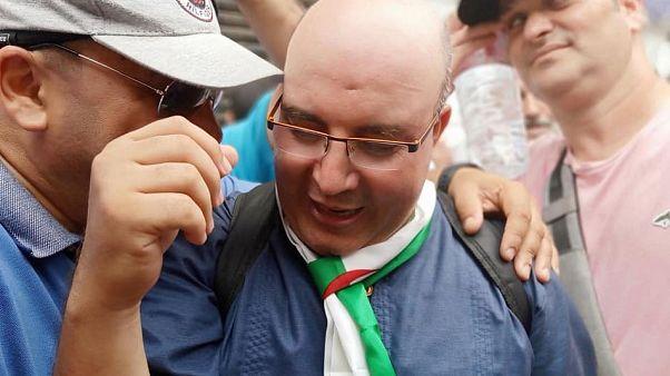 الصحفي والمعارض الجزائري فضيل بومالة