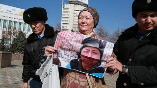 Police in Kazakhstan detain dozens after activist's death