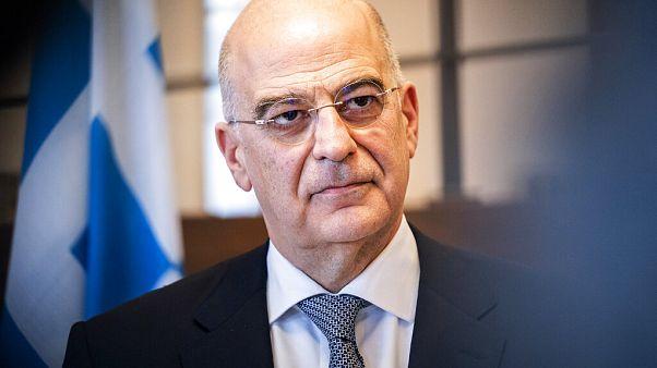 Ο υπουργός Εξωτερικών, Νίκος Δένδιας