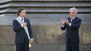 Uruguay'da yeni Devlet Başkanı Luis Lacalle Pou yemin etti