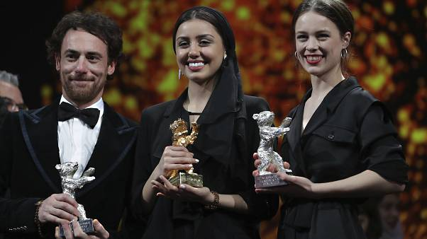 Elio Germano, Baran Rasoulof und Paula Beer