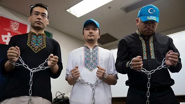 نشطاء يحتجون على معاملة الحكومة الصينية لمسلمي الأيغور