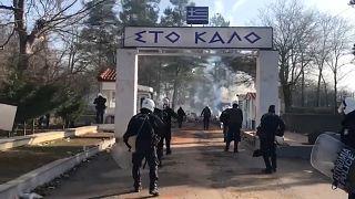 Bollwerk griechische Grenze