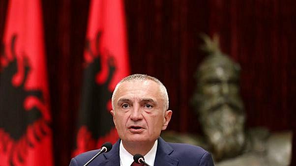 الرئيس الألباني إيلير ميتا