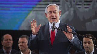 Benjamin Netanjahu bei einer Wahlveranstaltung
