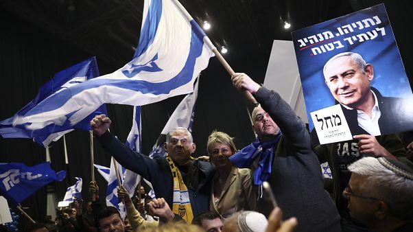 Legislativas de Israel: Netanyahu à frente na contagem dos votos