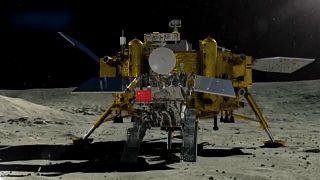 شاهد: مركبة يوتو-2 الصينية تجري عمليات استكشاف على القمر