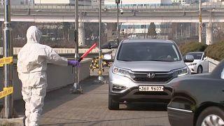 شاهد: كوريا الجنوبية تنشئ مراكز لاختبار فيروس كورونا